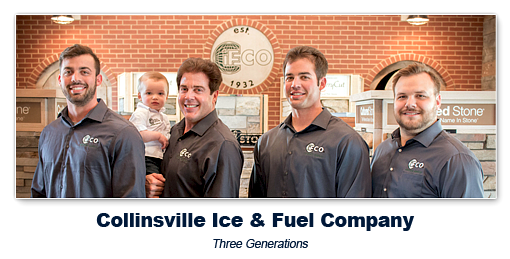 Collinsville Ice and Fuel Company in Collinsville and Belleville